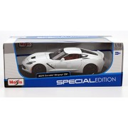 2014 Chevrolet Stingray Corvette Z51 White 1/18 by Maisto 31677