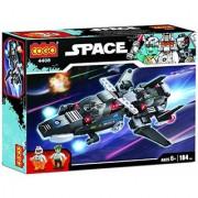 Planet of Toys 184 Pcs Space Building Blocks Set For Kids Children