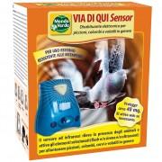 Електронен уред ALA STOP SENSOR за прогонване на птици (ГЪЛЪБИ, ВРАНИ) за 40 кв. м. (със сензор за движение, ултразвук, звукова аларма и светкавица)
