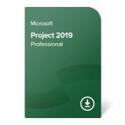 Microsoft Project 2019 Professional, H30-05830 elektronikus tanúsítvány