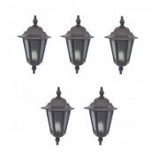 Kit Luminária 1 (5 luminárias externa meia cara Colonial)