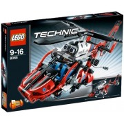 Lego Technic Rescue Helicopter Building Set