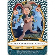 Sorcerers Mask of the Magic Kingdom Game Walt Disney World - Card #14 - Nibs's Neverland Assault
