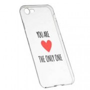 Husa Silicon Transparent Slim You Are The Only One 114 Apple iPhone 6 6S