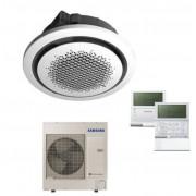 Samsung Condizionatore Samsung Commerciale Cassetta A Soffitto 360° 12 Kw Monofase Comando A Filo Ac120kn4dkh
