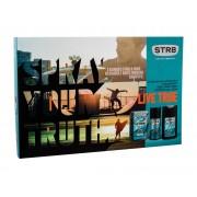 Str8 Live True 50Ml Aftershave Water 50 Ml + Deodorant 150 Ml + Shower Gel 250 Ml Per Uomo (Aftershave Water)