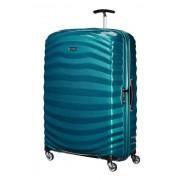 Samsonite Lite-Shock 81cm 4 Wheel Extra Large Spinner Suitcase - Petrol Blue