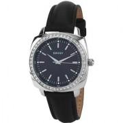 DKNY Quartz Black Round Women Watch NY8001 DKNY