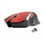 FANTECH Mini Portátil Wireless Gaming Mouse Óptico 6D Ratones Para PC Portátil Rojo