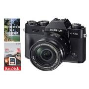 Fujifilm Cámara FUJIFILM X-T20 Super EBC XC16-50mm f/3.5-5.6 OIS II + Tarjeta SDCH de 16gb Clase 10 UHS-I, Negro.