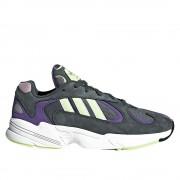 Adidas Yung 1 BARBD7655 universal toute l'année chaussures pour hommes violet 4.5 UK / 5 US / 37 1/3 EUR / 23 cm