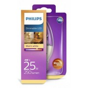Philips LED Kaars (Dimbaar) E14 25 Watt
