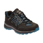Regatta Womens/Ladies Samaris Low Waterproof Seam Sealed Walking Shoes - Black - Size: 5