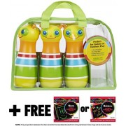 Giddy Buggy Bowling Set: Sunny Patch Outdoor Play Series + Free Melissa & Doug Scratch Art Mini Pad Bundle [66853]