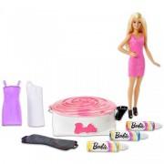 Barbie színkeverő centrifugával - Barbie babák