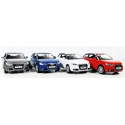 Jack Royal AUDI A1 - Metal Car (Pull Back Action) 4 Combo