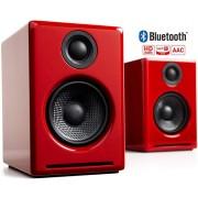 Audioengine A2+ Wireless 60W Powered Desktop Speakers   Built-in 24Bit DAC & Amplifier   Bluetooth aptX Codec, Direct USB Connection, 3.5mm and RCA Ph