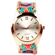 i DIVA'S LIFE Pink Color Analogue Girls Watch