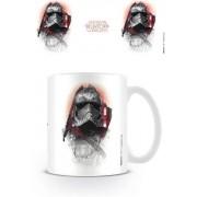 Pyramid Star Wars Episode VIII - Captain Phasma Brushstroke Mug