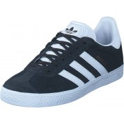 adidas Originals Gazelle J Dgh Solid Grey/White/Gold Met, Skor, Sneakers & Sportskor, Låga sneakers, Blå, Barn, 36