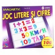 Joc educativ litere si cifre magnetice