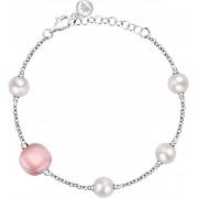 Morellato Stříbrný náramek s perlami Gemma Perla SATC09