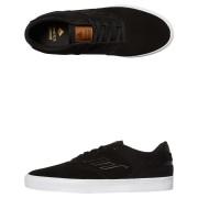Emerica Reynolds Low Vulc Suede Shoe Black