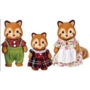 Jucarie Sylvanian Families Red Panda Family