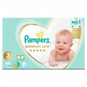 Scutece Pampers Premium Care 3 Mega Box 120 buc