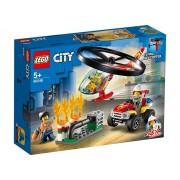 INTERVENTIE CU ELICOPTERUL DE POMPIERI - LEGO (60248)