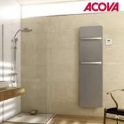 ACOVA Sèche-serviette ACOVA - PLUME électrique Aluminium Anodisé 350W TGPA-160-040/GF