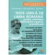 Teste-grila de limba romana Ed.2012 pentru admitere in invatamantul superior - Catrinel Popa
