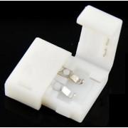 Forrasztásmentes gyorscsatlakozók , 8 mm-es LED szalaghoz