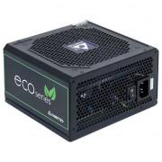 Pachet Sursa Chieftec ECO Series, GPE-500S, 500W, ATX 12V - GPE-500S + Suport magnetic Tellur MCM3 pentru ventilatie, plastic, Negru