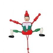 Desi Karigar Wooden Hanging Toy - Joker