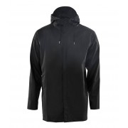 Rains Regenjassen Short Coat Zwart