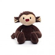 Bears for Humanity Organic Monkey Animal Pals Plush Toy, 12