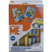 Red castle minions 1' colora con sabbia 2in1 rcds26