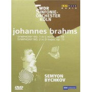 Video Delta Johannes Brahms - Symphony n. 1 in C minor, op. 68 - Symphony n. 2 in D major, op. 73 - DVD