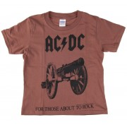 tricou stil metal bărbați copii AC-DC - For Those About To Rock - LOW FREQUENCY - ACKD05004