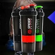 CP Bigbasket Sport Gym Protein Powder Drink Shaker Plastic Mixer Cup Bottle (1PC 500ML)