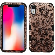 Funda Case Iphone XR Doble protector Uso Rudo Tuff - Lace
