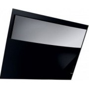 Hota decorativa Best Mask 80 cm putere de absorbtie 740 mc/h 1 motor 4 trepte de viteza sticla neagra si inox