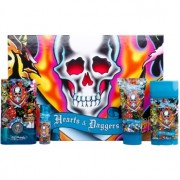 Christian Audigier Ed Hardy Hearts & Daggers for Him lote de regalo I. eau de toilette 100 ml + eau de toilette 7,5 ml + gel de ducha 90 ml + deo barra 78 g