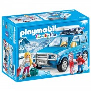Playmobil Coche Color Azul única