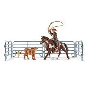 Schleich 41418 Csapatos lasszóverseny cowboy-jal