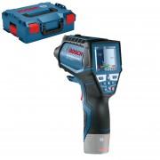 BOSCH GIS 1000 C (SOLO) Termodetector si umidometru cu bluetooth, Li-Ion + L-BOXX, fara acumulator in set
