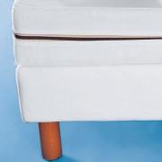 La Redoute Interieurs Capa para sommier em tecidoBranco- 120 x 190 cm
