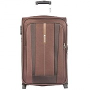 Safari REVV 2WH Brown 75 Unisex Soft Luggage Trolley Bag