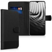 kwmobile Flipové pouzdro pro OnePlus 6T - antracitová